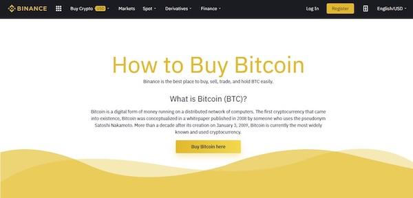 Buy Bitcoin on Binance with Credit Card